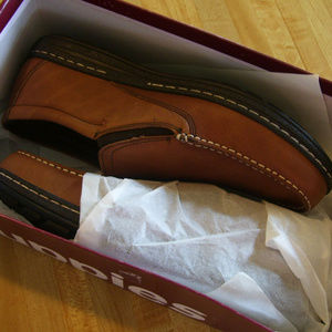 Mens Hush Puppies Size 13M Vicar Victory Loafers
